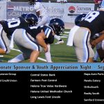 Tonight is Corporate Sponsor and Youth Appreciation Night