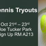 Tennis Tryouts Announced