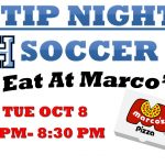 Soccer Tip Night Oct 8