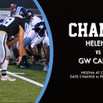 GAME DAY CHANGE OF DATE