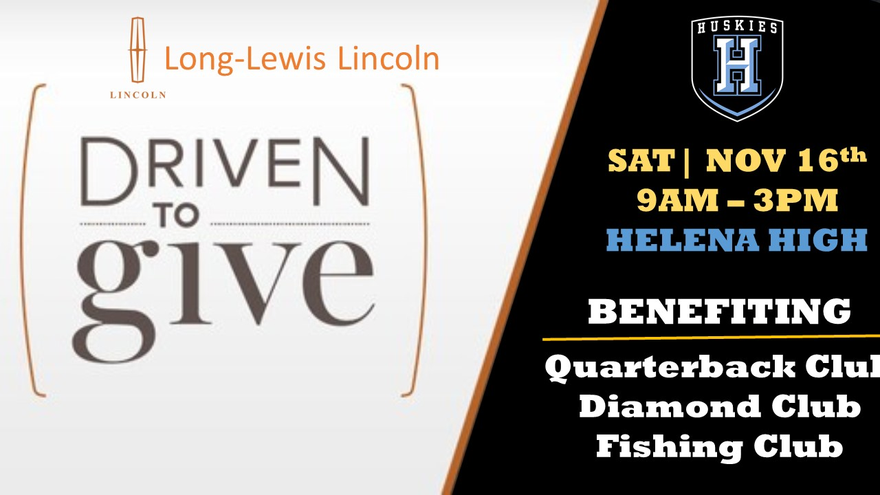 Football  Fundraiser – Long-Lewis Lincoln's Drive to Give