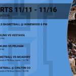 Sports This Week 11/11-11/16