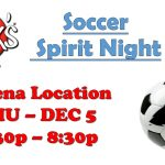 Helena Soccer Spirit Night at Jack's THU