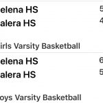 Basketball Wins on the road @Calera