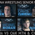 Wrestling Senior Night Today