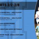 Sports this Week – 2/2 through 2/8