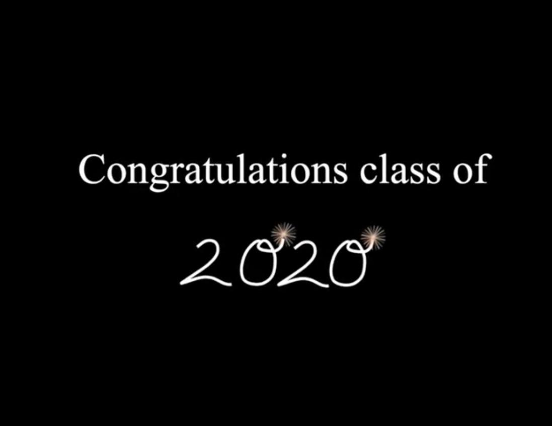 Introducing the Senior Class of 2020