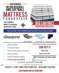 Diamond Club Announces 3rd Annual Matress Sale