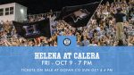 Tickets For Calera Game Go On Sale Today