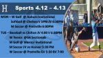Checkout the Action as Spring Sports Enter the Last Full Week of Area Play