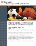Kokomo Schools Free Sports Physicals Night (May 19th – 6:00-8:00pm)