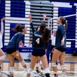 DP Girls Volleyball stays undefeated with a sweep of Ocoee in 3 games