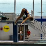Girls Varsity Swimming falls to West Orange 122 – 58