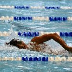 Boys Varsity Swimming falls to West Orange 97 – 79