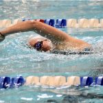 Girls Varsity Swimming beats Edgewater 127 – 33