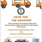 Support the DP Community Drive For Bahamas – Senior Night Thursday – Events start at 6:30