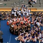 Cheerleading dominates again at Metro Championship – 1st place with an incredible performance, next stop FHSAA Regionals this Saturday to add more gold to their trophy case