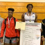 Gerald Greaves is your FHSAA Regional Champion in the 220 weight class for DP Men's Wrestling