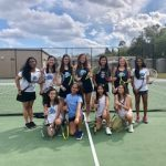 Girls Varsity Tennis beats Windermere 6 – 1