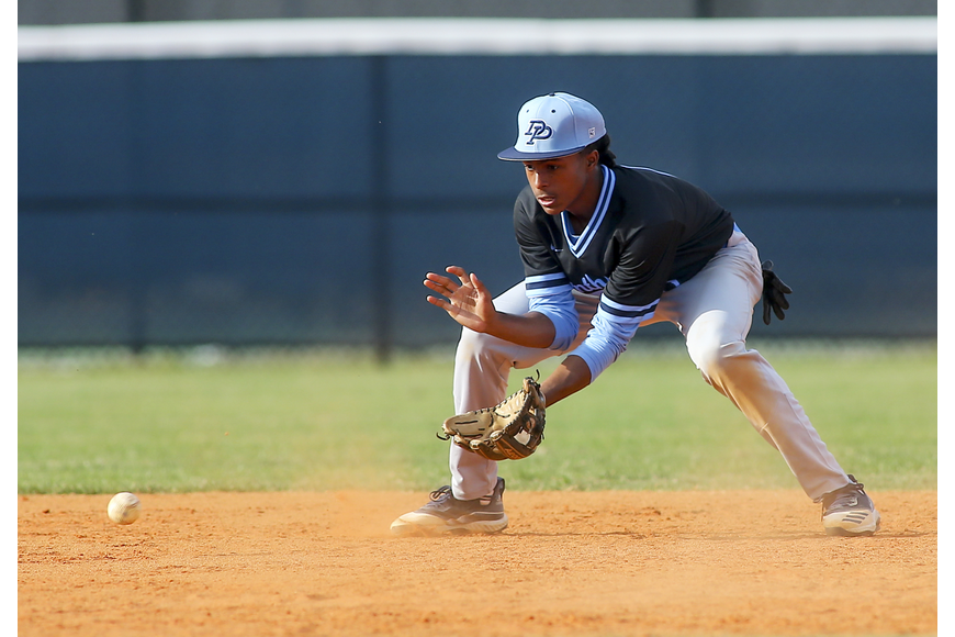 Today's Varsity Baseball vs Fletcher at 2pm is admission free.  Fill the stadium in DP Blue!!!
