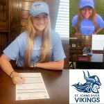 Incredible News!!! Emily Evans Signs at St Johns State College for Indoor & Beach Volleyball!!!  Congrats & Well Deserved Emily on becoming a VIKING
