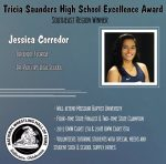 Jessica Corredor continues to bring in the accolades, 2x STATE CHAMPION earns the National Wrestling Hall of Fame Tricia Saunders High School Excellence Award.  The complete package and mentor for all student-athletes