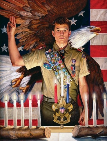 """Eagle Scout Project looking for donations is building a shed for DP Athletics – send donations to Nick """"Future Eagle Scout"""" GoFundMe link: https://gf.me/u/yzc635"""