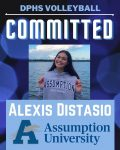Huge shout out  to Alexis Distasio on her continuing her volleyball career at Assumption University!