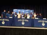 Signing Day for Blue Darter Student Athletes