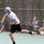 East Tennis at Manitowoc Tournament