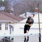 West Bend East High School Boys Varsity Tennis falls to Arrowhead High School 7-0