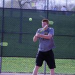 West Bend East High School Boys Varsity Tennis beat Menomonee Falls High School 4-3