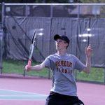 West Bend East High School Boys Varsity Tennis beat West Bend West High School 6-1