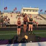 West Bend East High School Girls Varsity Track finishes 7th place