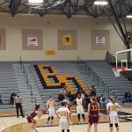 West Bend East High School Girls Varsity Basketball beat Brown Deer High School 35-30