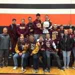 Boys Varsity Wrestling finishes 1st place at Invitational @ North Fond Du Lac High School