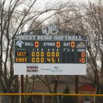 Girls Varsity Softball beats West Bend West 10 – 0