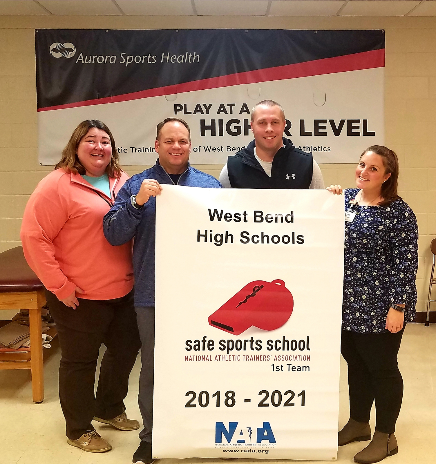 WEST BEND EAST AND WEST ATHLETICS RECEIVE NATIONAL ATHLETIC TRAINING ASSOCIATION AWARD