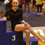 Gymnast Sydney Spaeth qualifies for the WIAA State Gymnastics Tournament