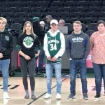 Matt Geldnich wins the 2019 Milwaukee Bucks Perseverance Award