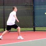Tennis Takes One, Drops Two, on Saturday