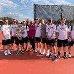 Boys Varsity Tennis beats West Bend West 4 – 3