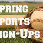 IMPORTANT: Spring Sports Sign-Up is February 12