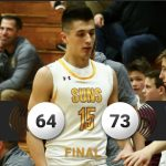 Boys Varsity Basketball falls to Whitefish Bay 73 – 64