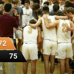 Boys Varsity Basketball beats Cedarburg 75 – 72