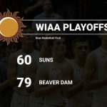 Basketball falls in Playoffs