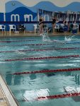 Girls Varsity Swimming beats Nicolet 107 – 75