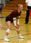 Girls Varsity Volleyball falls to West Bend West