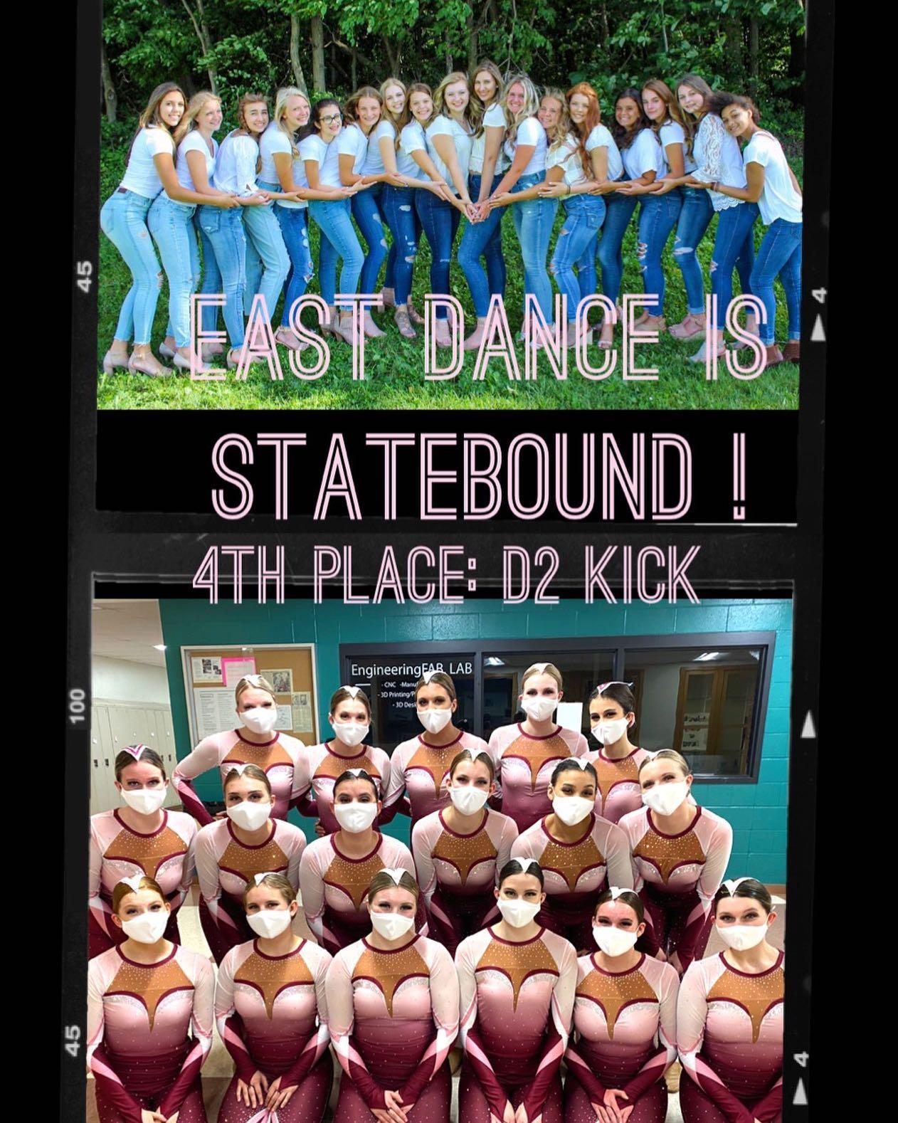 East Dance is Statebound!