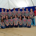 Girls Swim Team wins Sectionals